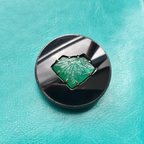 Mughal smaragd hanger