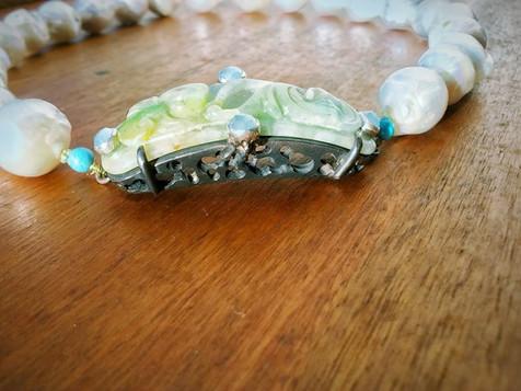 Parel collier - pearl necklace