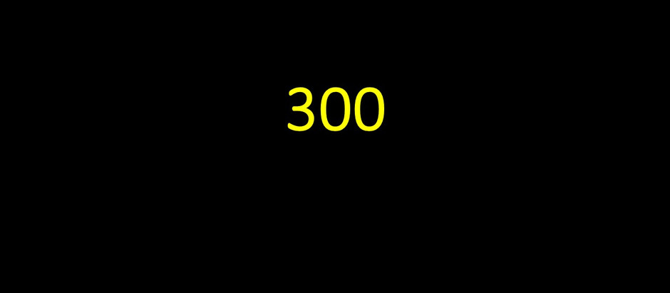 Reaching 300