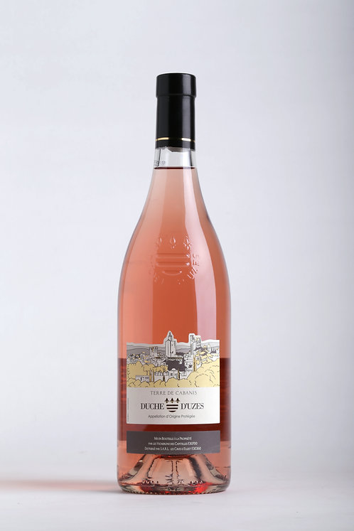 AOC Duché d'Uzès Terre de Cabanis rosé