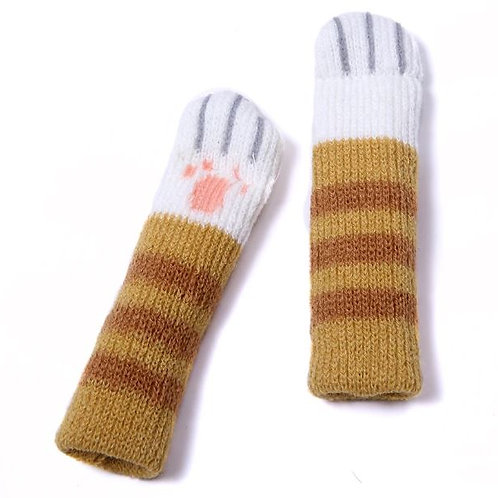 Cat paw Chair socks -Light brown| Christmas gift /Mother's day gift /uniqu