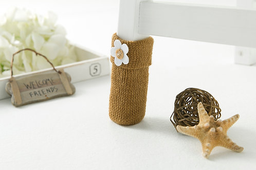 Daisy (Light brown) Chair socks