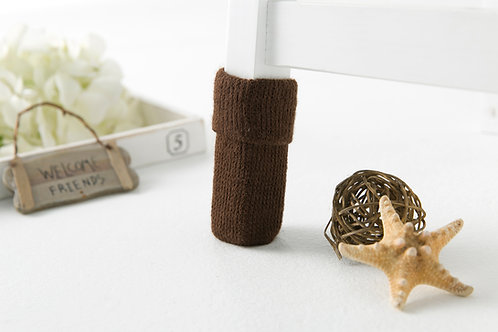 Pure chocolate (top -folded) Furniture socks/ Easter gifts /New Year gift