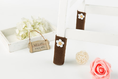 Daisy(Chocolate) Furniture socks- Christmas gift /New year gift / unique gift