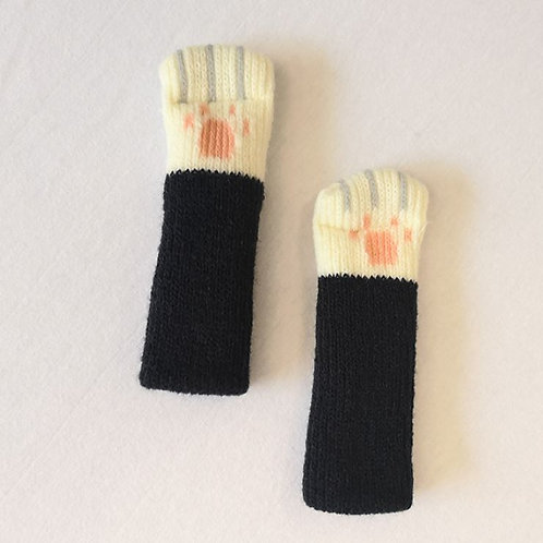 Cat paw Chair socks -Black   Christmas gift /Mother's day gift /uniqu