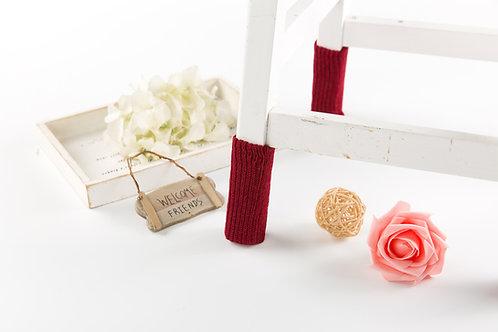 Burgundy Chair socks--Christmas gift / Event gift/2018