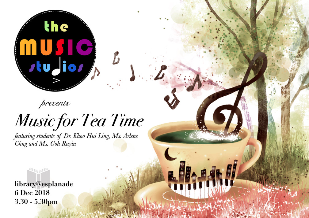 Collective student recital: MUSIC FOR TEA TIME