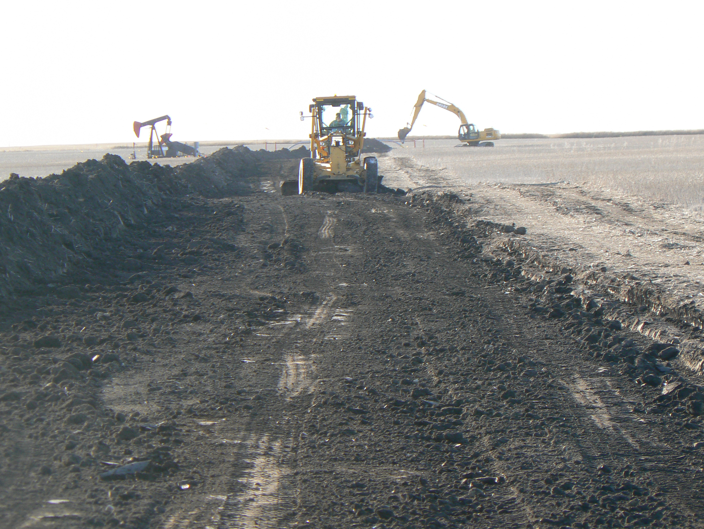 Pipeline Construction | CJB Ventures Inc  | Oilfield