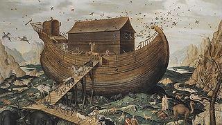 noahs-ark-on-mount-ararat-1570-simon-de-