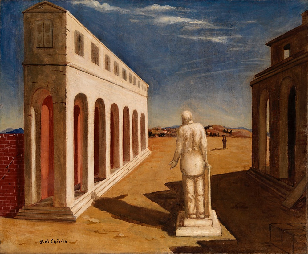 Giorgio de Chirico - Souvenir d'Italie