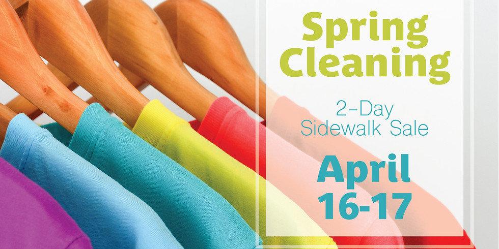 Spring Cleaning Inventory Event! (Saturday)