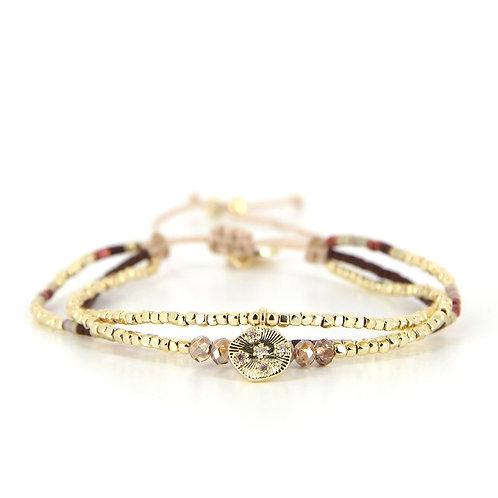 Bracelet B-1795 Rusty Gold