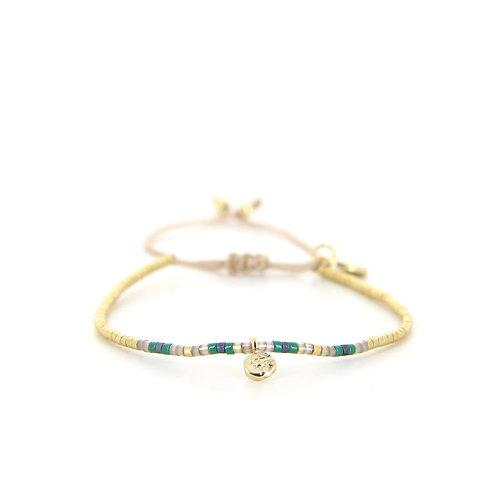 Bracelet B-1828 Green Passion Gold