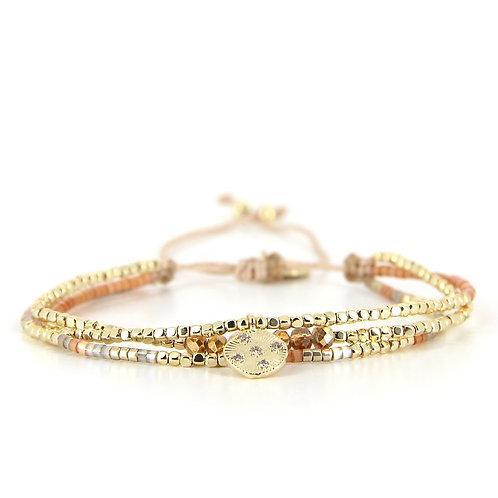 Bracelet B-1816 Golden Camel
