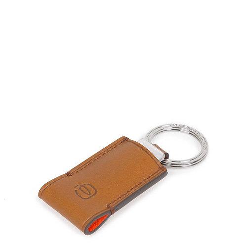 Porte-clefs en cuir avec clé USB 16GB