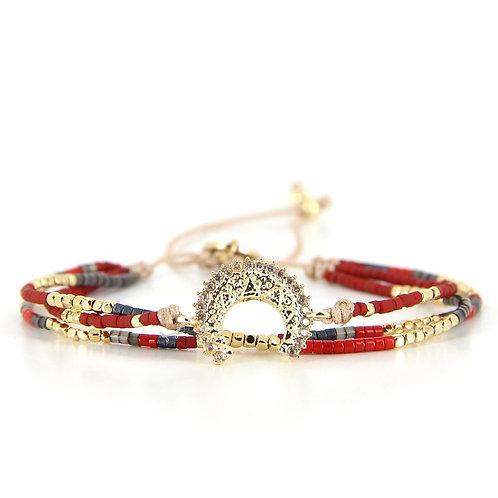 Bracelet B-1797 Lovely Gold
