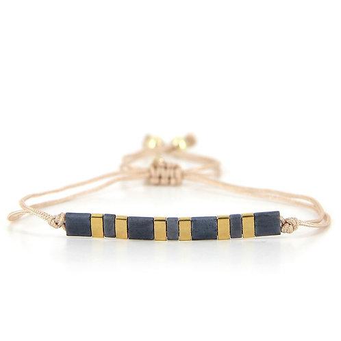 Bracelet B-1803 Gold Pastel Green