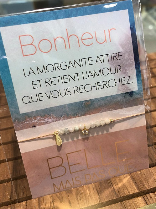 "Bracelet ""With love"" BONHEUR"