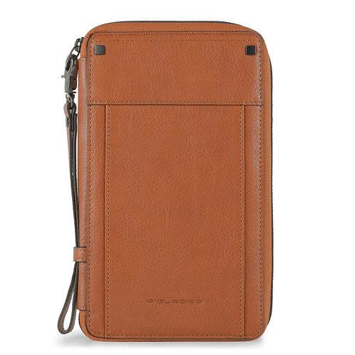 Porte-documents de voyage zippé