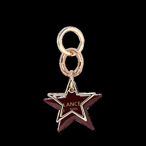 PORTE-CLÉS ETOILE Stars de Lancel