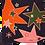 Thumbnail: CARRÉ DE SOI - Motif Comètes