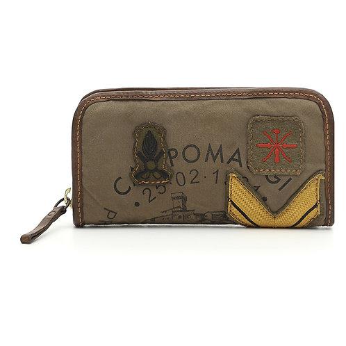 Grand portefeuille avec armoiries