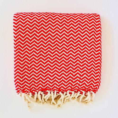 Towel Chikitu Large - Red