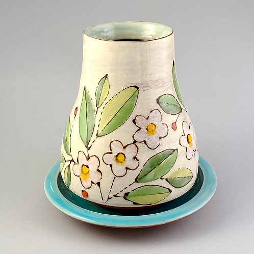 Vase and Saucer