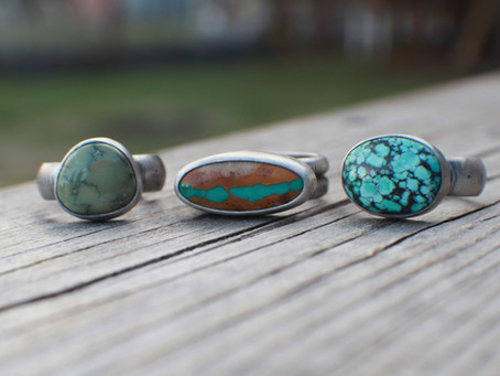 Spring Sneak Peek: Turquoise, a whole bunch!