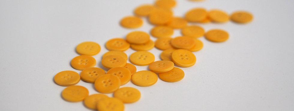 Marigold Shell Button