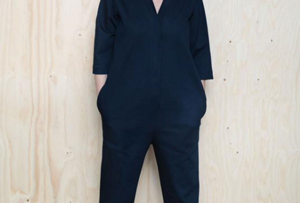 The Assembly Line V-Neck Jumpsuit