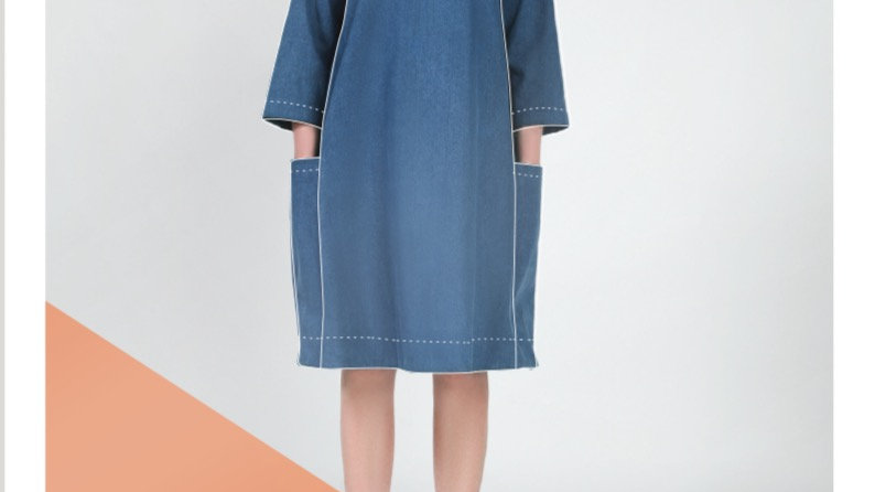 In The Folds: Rushcutter dress