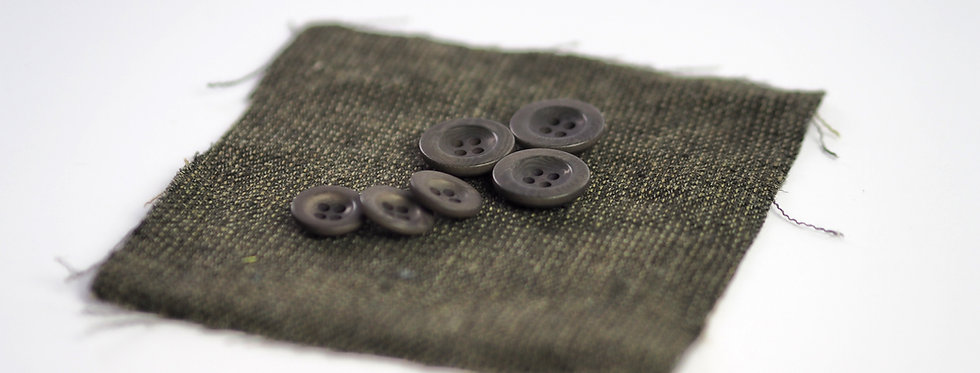 Khaki Corozo Button 22mm