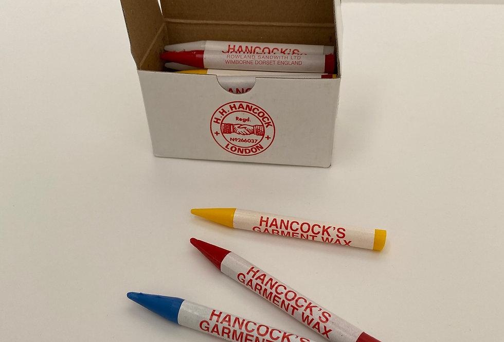 Hancock's Garment Wax Marking Pencils