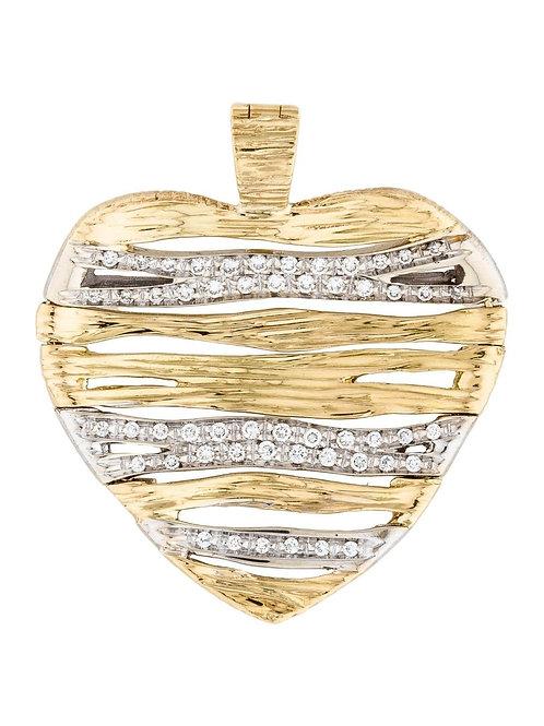 ROBERTO COIN 18K DIAMOND FLEXIBLE ELEPHANTINO PENDANT