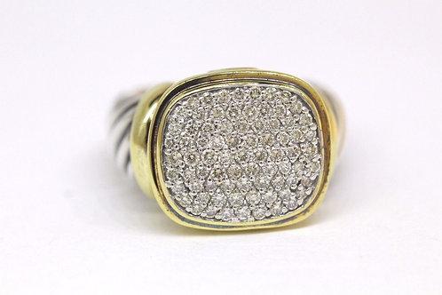DAVID YURMAN LARGE DIAMOND NOBLESSE RING
