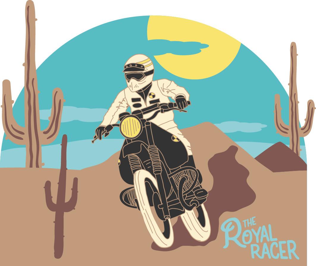 Dessin The Royal racer