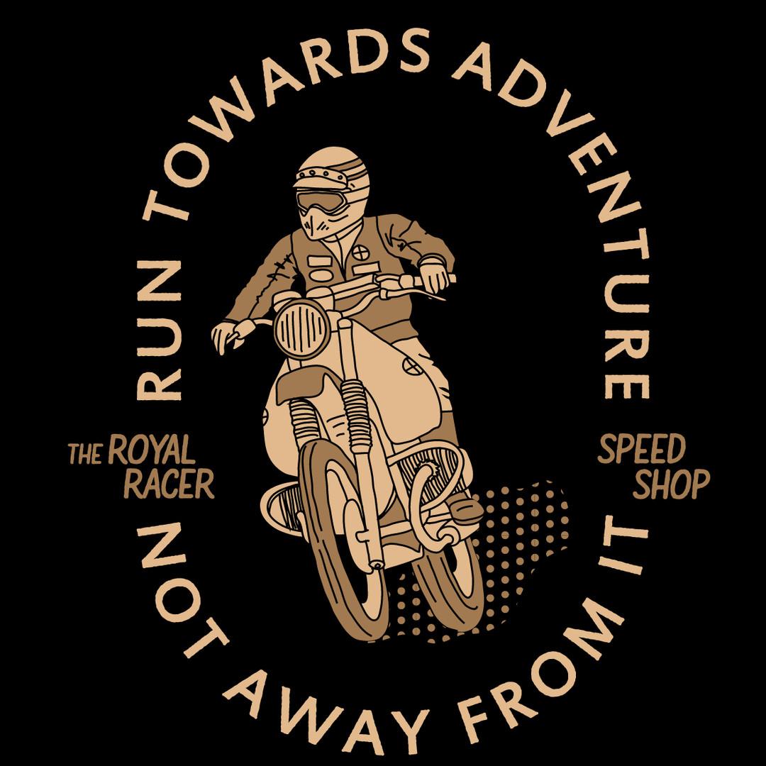 Tshirt The Royal racer