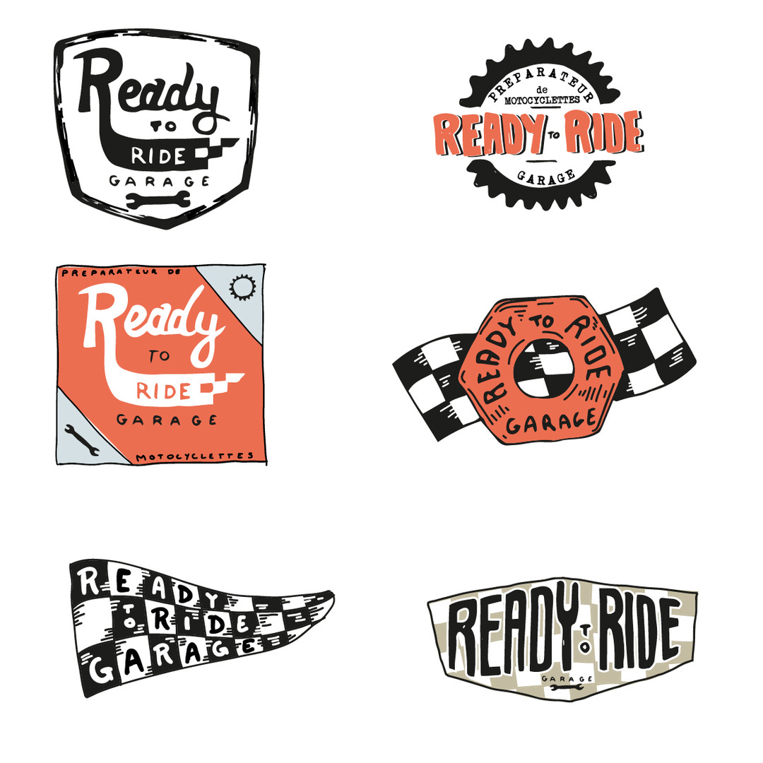 Ready to Ride recherches logo