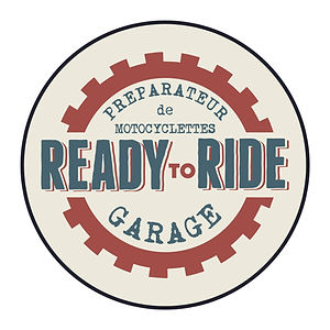 Ready to ride garage création logo lyon graphiste moto