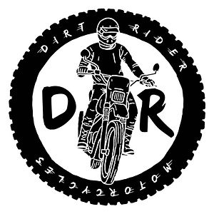 Dirt Rider Motorcycles design logo lyon designer illustration graphiste moto