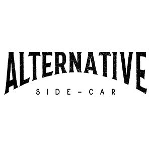 Alternative Side-Car logo vintage moto