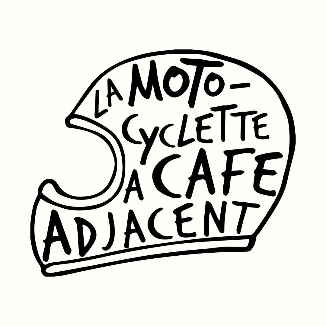 Logo pour La Motocyclette à Café Adjacen