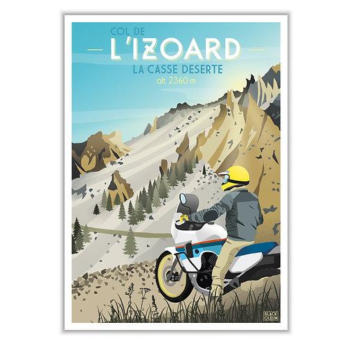 """Art Print """"IZOARD"""""""