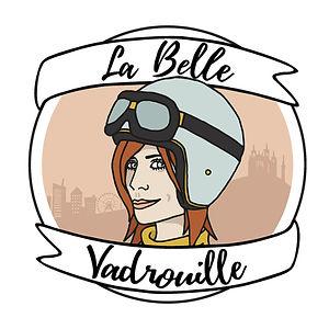 La Belle Vadrouille logo graphiste lyon