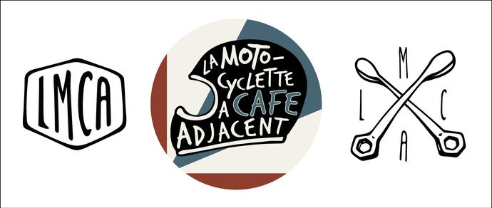 Identité visuelle pour La Motocyclette à