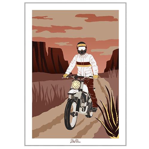 """Art Print """"Desert Rider"""""""