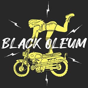 Black oleum design graphiste lyon moto
