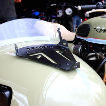 Porte paquet side-car Triumph pour Alternative side Car