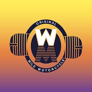 Original wild motorcycle design logo moto graphiste lyon